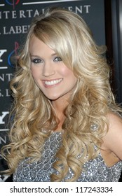 Carrie Underwood at the 2007 Clive Davis Pre-Grammy Awards Party. Beverly Hilton Hotel, Beverly Hills, CA. 02-10-07