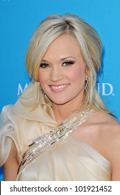 Carrie Underwood  at the 45th Academy of Country Music Awards Arrivals, MGM Grand Garden Arena, Las Vegas, NV. 04-18-10