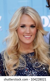 "Carrie Underwood at the ""American Idol"" 2012 Finale, Nokia Theatre, Los Angeles, CA 05-23-12"