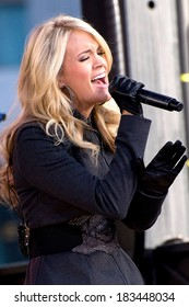 Carrie Underwood on stage for Good Morning America GMA Concert with Carrie Underwood, Lincoln Center, New York, NY November 3, 2009 Photo By Lee/Everett Collection