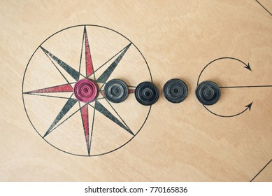 Carrom board background