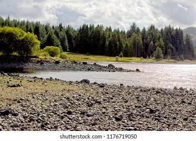 Carron Valley Reservoir, near Stirling, Scotland, UK.
