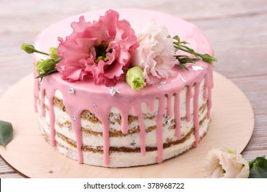 Prime Cake Flowers Stock Photos Images Photography Shutterstock Funny Birthday Cards Online Aeocydamsfinfo