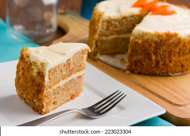 Carrot Cake with Whipped Frosting