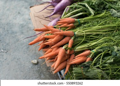 Carrot grocery in asian style