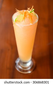 carrot and lime juice shake