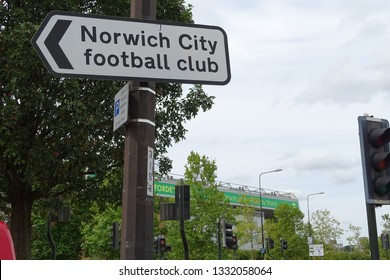 Carrow Road, Norwich City Football Club, Norwich, Norfolk, June 2018. Views of Carrow Road, the home of Norwich City FC.
