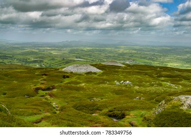Carrowkeel Neolithic passage tomb cemetery in Ireland