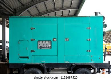 Carry Diesel generator for emergency electric power.