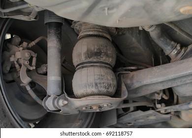 car's air suspension system