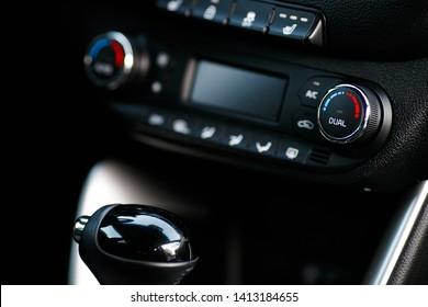 Cars Dashboard Climate Controle. Car concept 2
