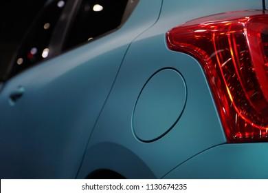 Car's fuel tank