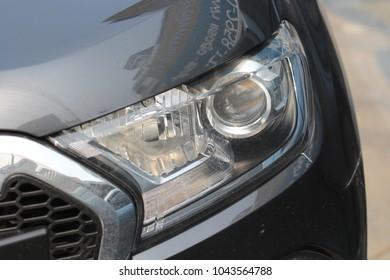 Car's headlamp design
