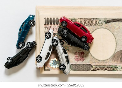 Cars and japanese yen