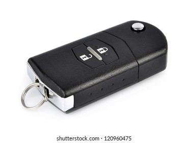 cars key isolated on a white background