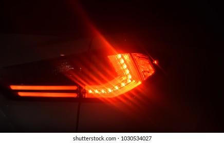 Brake Lights Images, Stock Photos & Vectors   Shutterstock