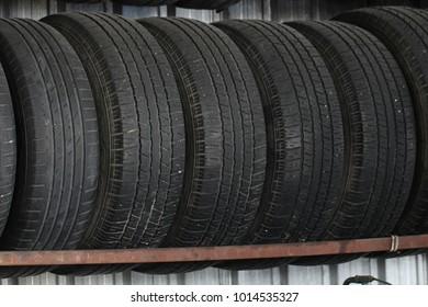 Car's tires stock