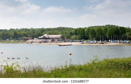 Carsington Water, a popular tourist destination for walking and boating