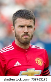 CARSON, CA - JULY 15: Michael Carrick during Manchester United's summer tour friendly against the L.A. Galaxy on July 15th 2017 at the StubHub Center.