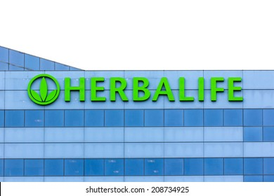 CARSON, CA/USA - AUGUST 2, 2014: Herbalife headquarters building. Herbalife International is a multi-level marketing company that sells nutrition, weight management and skin-care products.
