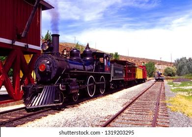 Carson City, Nevada, USA, Nevada State Railroad Museum, May 27, 2004