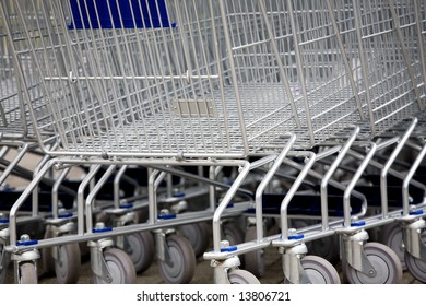 cart for a supermarket