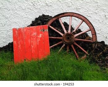 Cart wheel, Ireland