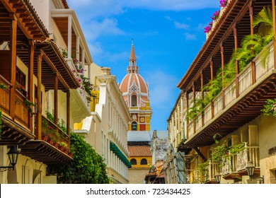 Cartagena Colombia Cathedral