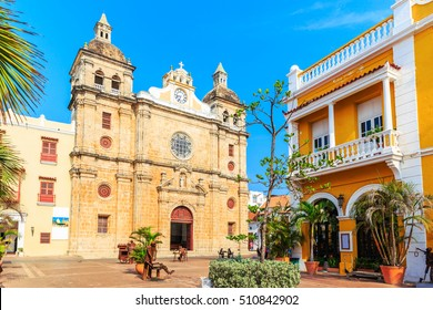Cartagena, Colombia. Church of St Peter Claver.