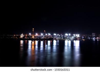 Cartagena Colombia, Cartagena harbor, Cartagena night, Sociedad Portuaria de Cartagena