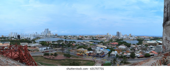 Cartagena panoramic view