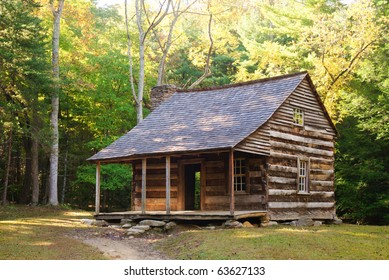 Carter Shields Cabin, Cades Cove, Great Smoky Mountains National Park