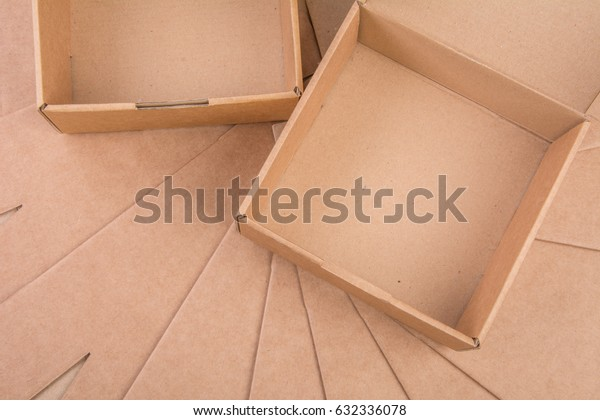 Carton box as carton background