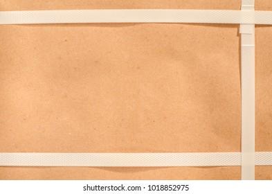 carton box with straps