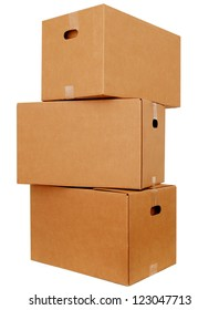 Carton boxes stacking