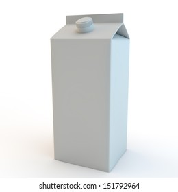 Carton illustration, drink container