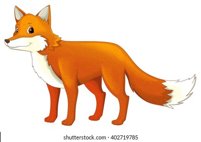 fox cartoon images  stock photos   vectors shutterstock Cute Animal Clip Art Zoo Animals Clip Art Black and White