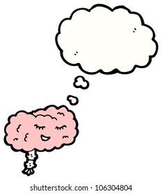 cartoon brain