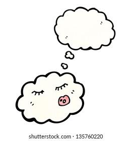 cartoon cloud