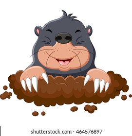 cartoon mole images stock photos vectors shutterstock rh shutterstock com Whack a Mole Cartoon Whack a Mole Cartoon
