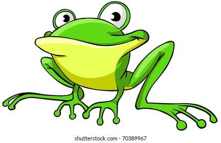 Cartoon Frog Images Stock Photos Vectors Shutterstock