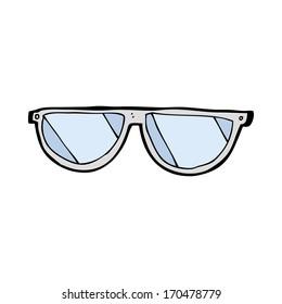 cartoon glasses