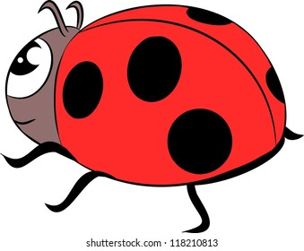 ladybug cartoon images stock photos vectors shutterstock rh shutterstock com ladybug cartoon people name ladybug cartoon catwalk