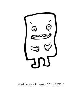 cartoon paper character