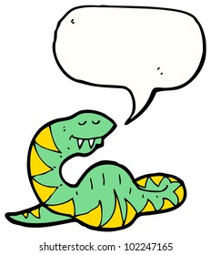 cartoon pregnant snake