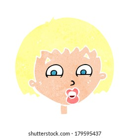 cartoon shocked expression