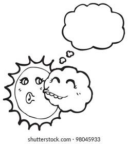 cartoon weather characters