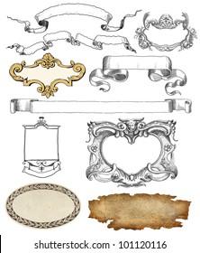 cartouche illustration