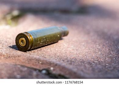 Cartridge from the Kalashnikov assault rifle