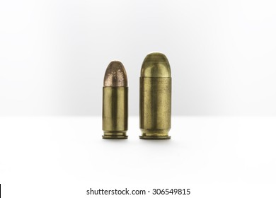 cartridges of  9mm and 11mm pistols ammo